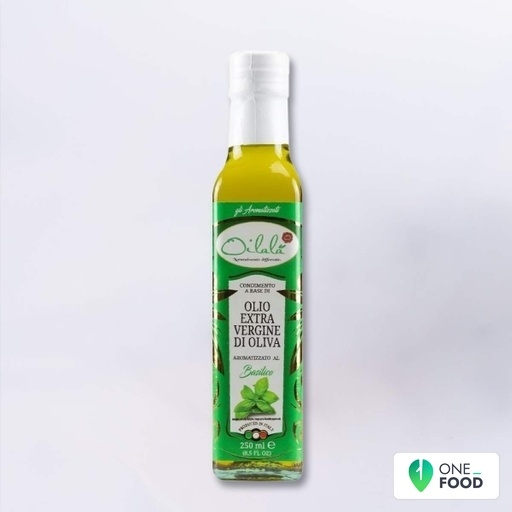 Basil Flavoured Extra Virgin Olive Oil 1 X 250 Ml